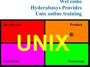 Best UNIX  online training in UK |UNIX online classes