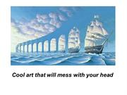 optical art and illusions