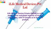 Best Iv Cannula and Catheter Manufacturer