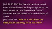 Bible Verses from a Memorial Service for an Amazing Servant of God