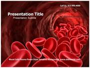 Download Blood Cells Plasma Powerpoint Template