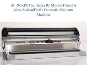At -80KPA The Unika By Munro Direct Is New Zealand's #1 Domestic Vacuu