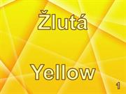 Žlutá  - Yellow - 1