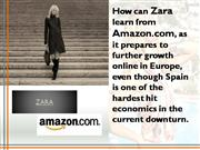 How can Zara learn from amazon ppt