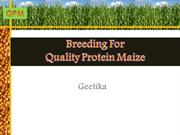 Quality Protein MAIZE