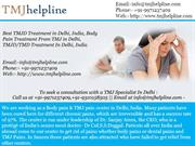 TMJ specialist in India, TMJ Treatment in India, TMJ Cause