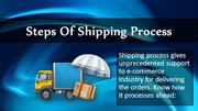 Steps of Shipping Process