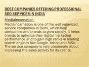 Professional SEO Services India at Affordable Cost