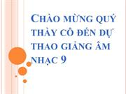 Tiet 14 On TDN TDN so 4 ANTT Mot so ca khuc mang am huong dan ca
