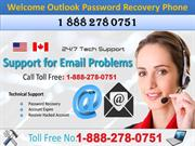 Get Instant Outlook Password Recovery through Tech Support