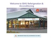 Referigeration & Airconditioning  for Commercial and Industrial uses