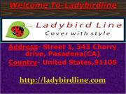 Ladybird line- Capes and Apparel, Salon Aprons and Aprons with Pockets