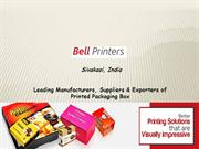 Printed Packaging Box Manufacturers
