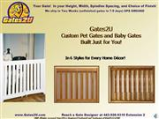 Gates2U Custom Pet Gates Baby Gate Intro