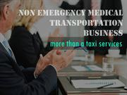 Non Emergency Medical Transportation-Business