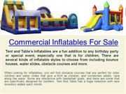 Bounce Houses For Sale Used