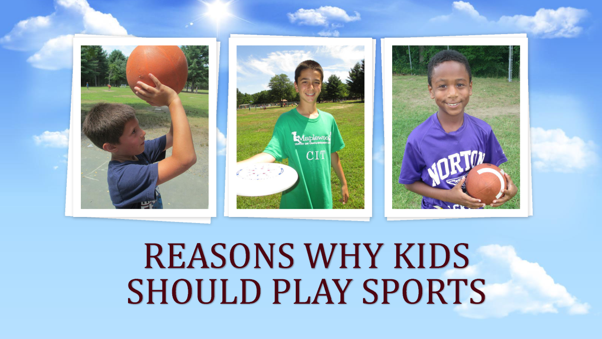 why kids should play sports Soccer as it's played today should be played by only children who are above the age of 12-14 children younger than that should play a modified form of soccer, whereby there's less contact.
