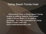 Motel in Delray Beach FL, Delray Beach F