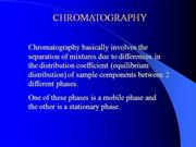 chromatography Slides