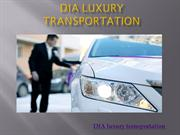 DIA Luxury Transportation | Denver Car Services At Good Cost