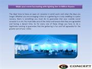 Make your event fascinating with lighting hire in Milton Keynes