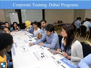 Corporate Training Dubai Programs