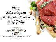 Why Filet Mignon Makes the Tastiest Beef Jerky