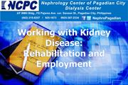 Working with Kidney Disease