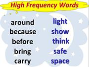 L16_High Frequency Words