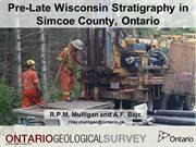 Pre- Late Wisconsin Stratigraphy, Southern Ontario