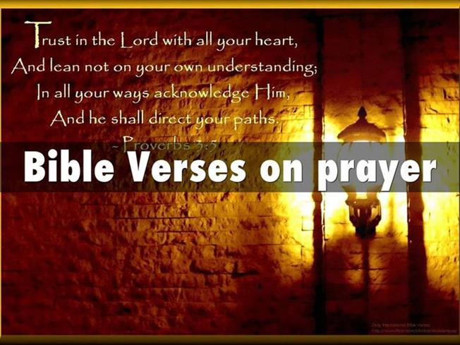 Bible Verses on Prayer – Prayers for Healing And Prayers for