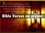 Bible Verses on Prayer – Prayers for Healing and Prayers for Strength