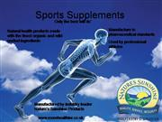 Sports Supplements Presentation NS