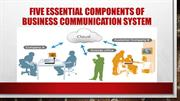 Five Essential Components of Business Communication System