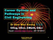 Pathways in Civil Engineering