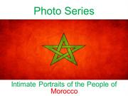 Photo Series Intimate Portraits of the People of Morocco