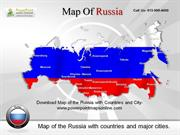 Download Editable Map of the Russia