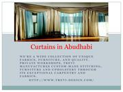 Curtains in Abudhabi