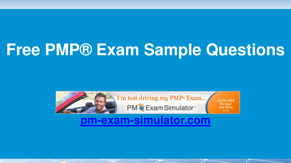 pmp sample questions pdf free download