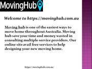 Free Moving Home Services Australia