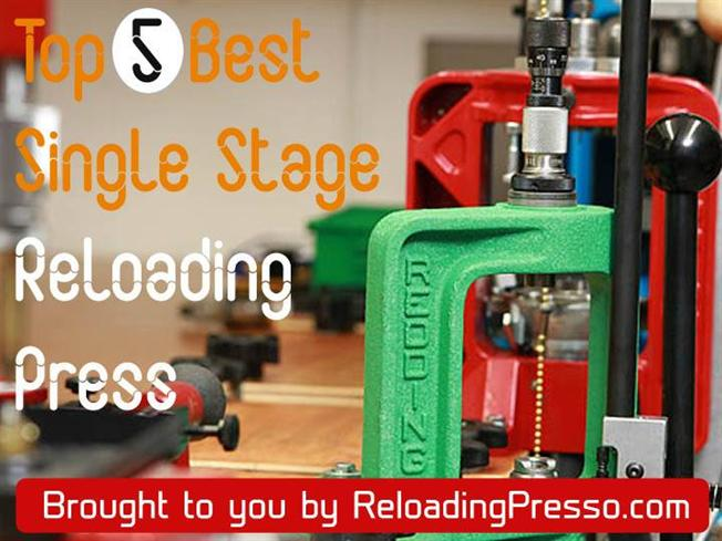 Top 5 BEST Single Stage Reloading Press Reviews |authorSTREAM