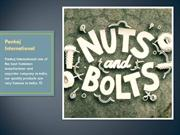 Bolts and Nuts Manufacturing in India