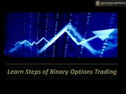 Learn Simple Steps of Binary Options Trading with Secured Options