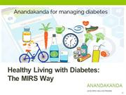 Healthy Living with Diabetes The MIRS Way