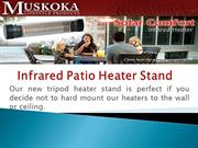 Tripod Infrared Heater Stand