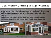 conservatory cleaning high wycombe