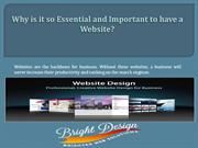 Why is it so essential and important to have a website?