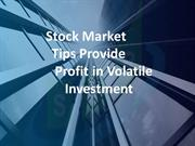Sai Proficient- Stock Market Tips- Equity Market