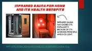 Infrared Sauna For Home And Its Health Benefits