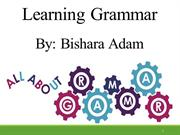 Learning Grammar